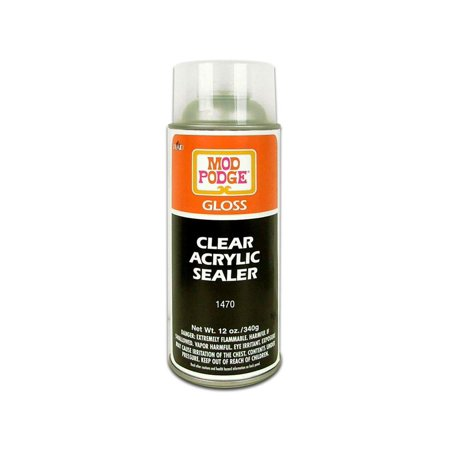 Plaid Mod Podge Acrylic Sealer Aerosol Gloss 12oz