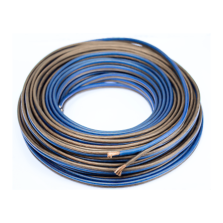 25 Ft 10 Gauge Speaker Wire Cable Car Home Audio AWG 25' Blue Black Home Speaker Wiring on