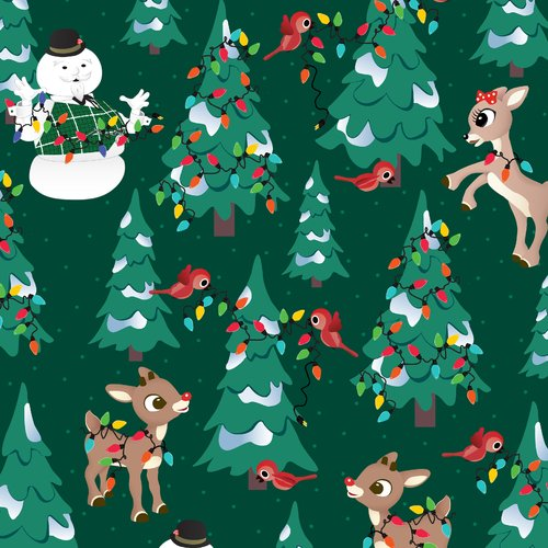 V.I.P By Cranston Rudolph Allover Fabric by the Yard