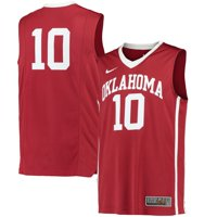 #10 Oklahoma Sooners Nike Replica Basketball Jersey - Crimson
