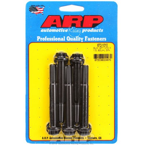 Black ARP 6611002 Oxide Bolt