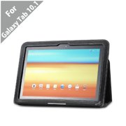 (TM) Samsung GALAXY Tab 10.1 Leather EZ Carry Case with 3 in 1 built in Stand for Samsung GALAXY Tab 10.1 Wi-Fi ONLY (BLACK), Improved magnet: There is iron.., By Acase