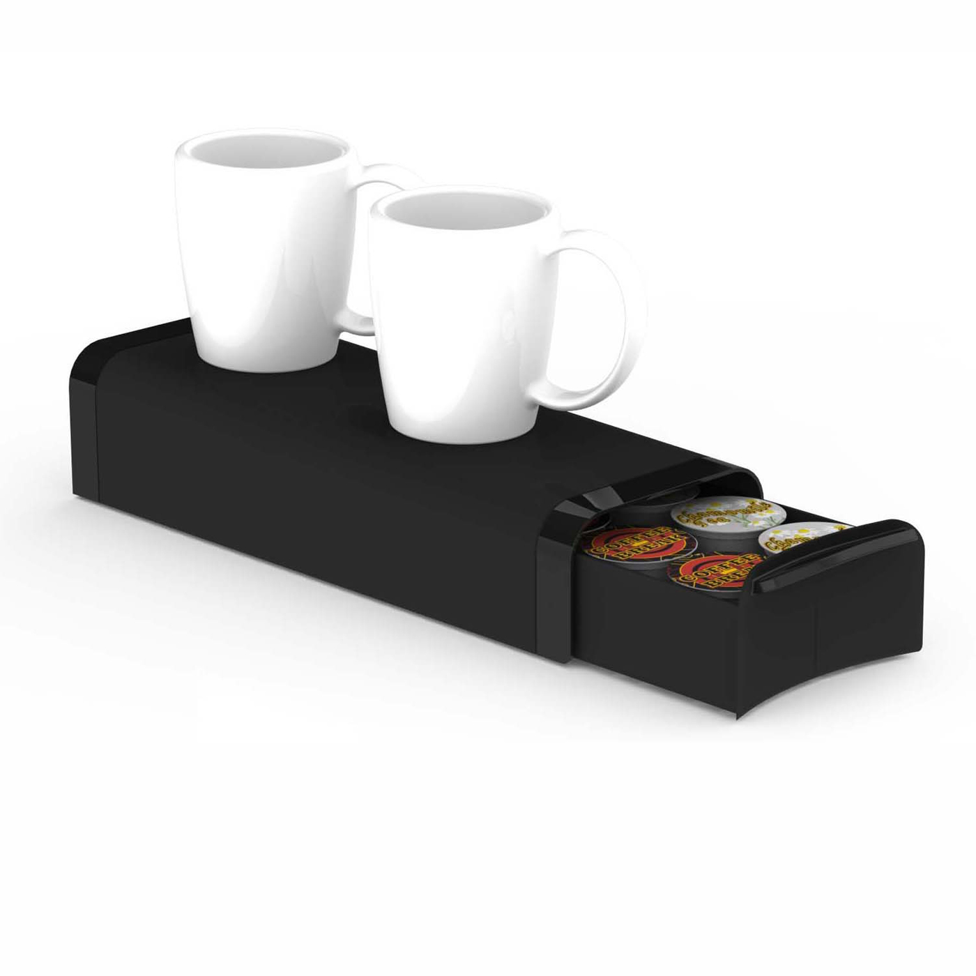 Etonnant Mind Reader Coffee Pod Storage Drawer For K Cups, Verismo, Dolce Gusto,