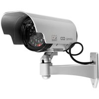 Trademark Home Security Camera Decoy with Blinking LED and Adjustable Mount