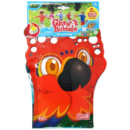 Glove A Bubble Parrot & Penguin 2-Pack