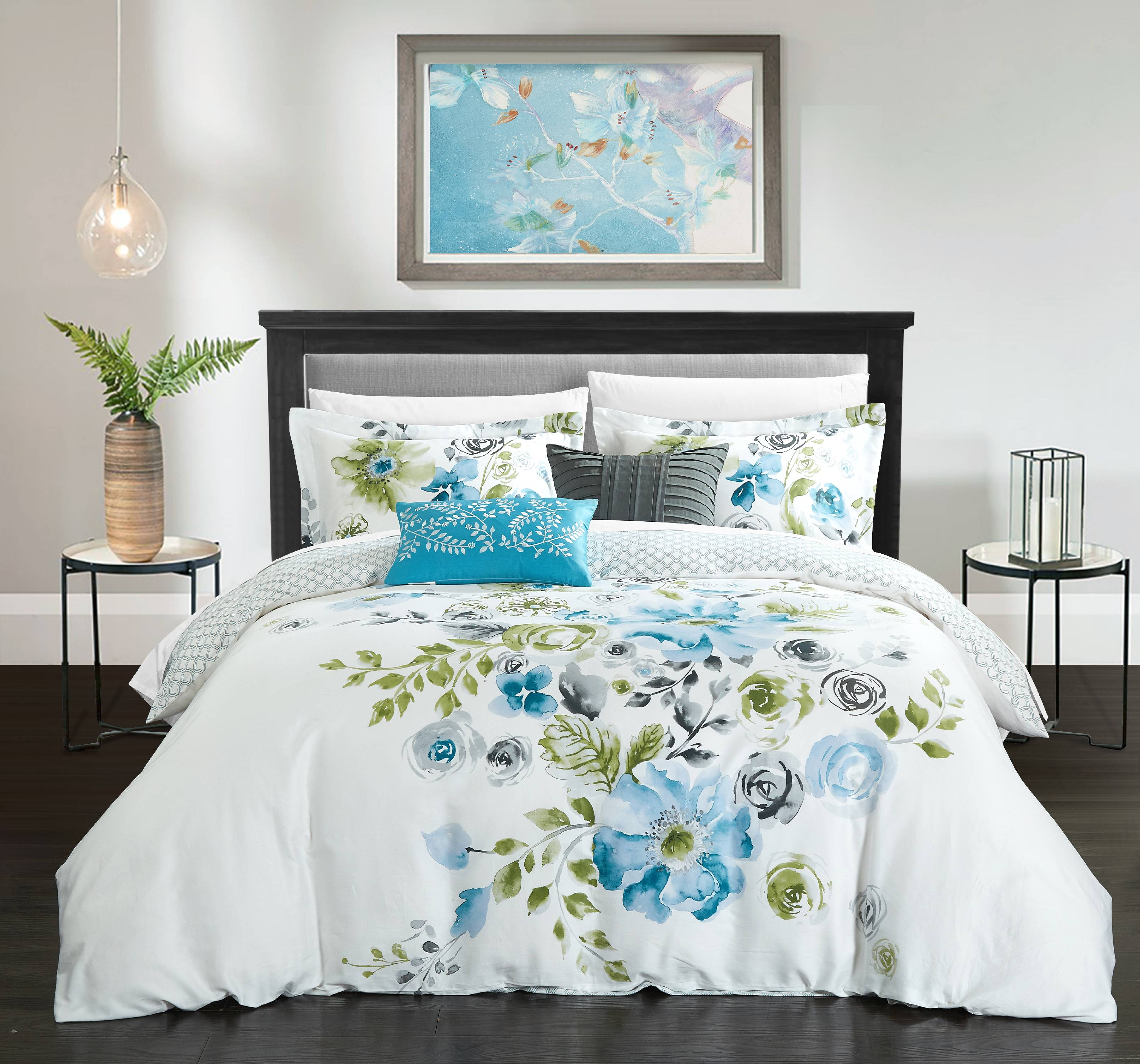 Chic Home Aylett 5 Piece Reversible Comforter Set