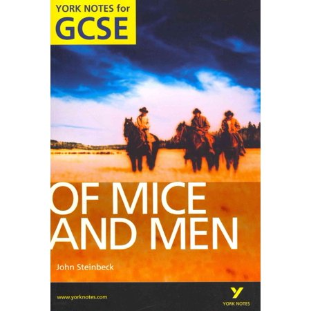 Of Mice And Men  York Notes For Gcse  Paperback