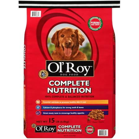 Ol' Roy Complete Nutrition Dry Dog Food, 15 lb