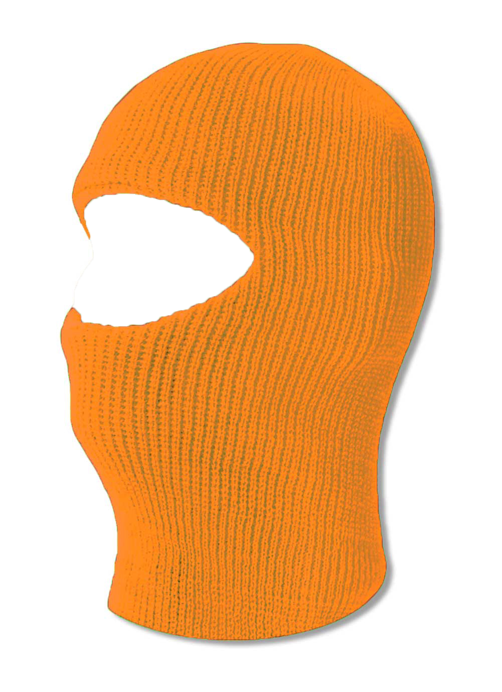 TopHeadwear One 1 Hole Ski Mask Neon Orange by