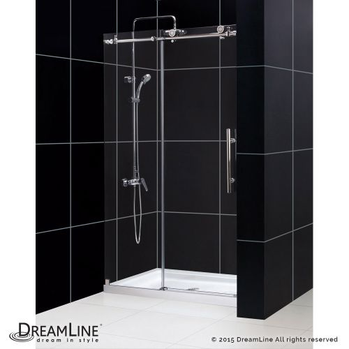 "Dreamline DL-6619-CL Enigma-X 78-3/4"" High x 48"" Wide Sliding Frameless Shower D"