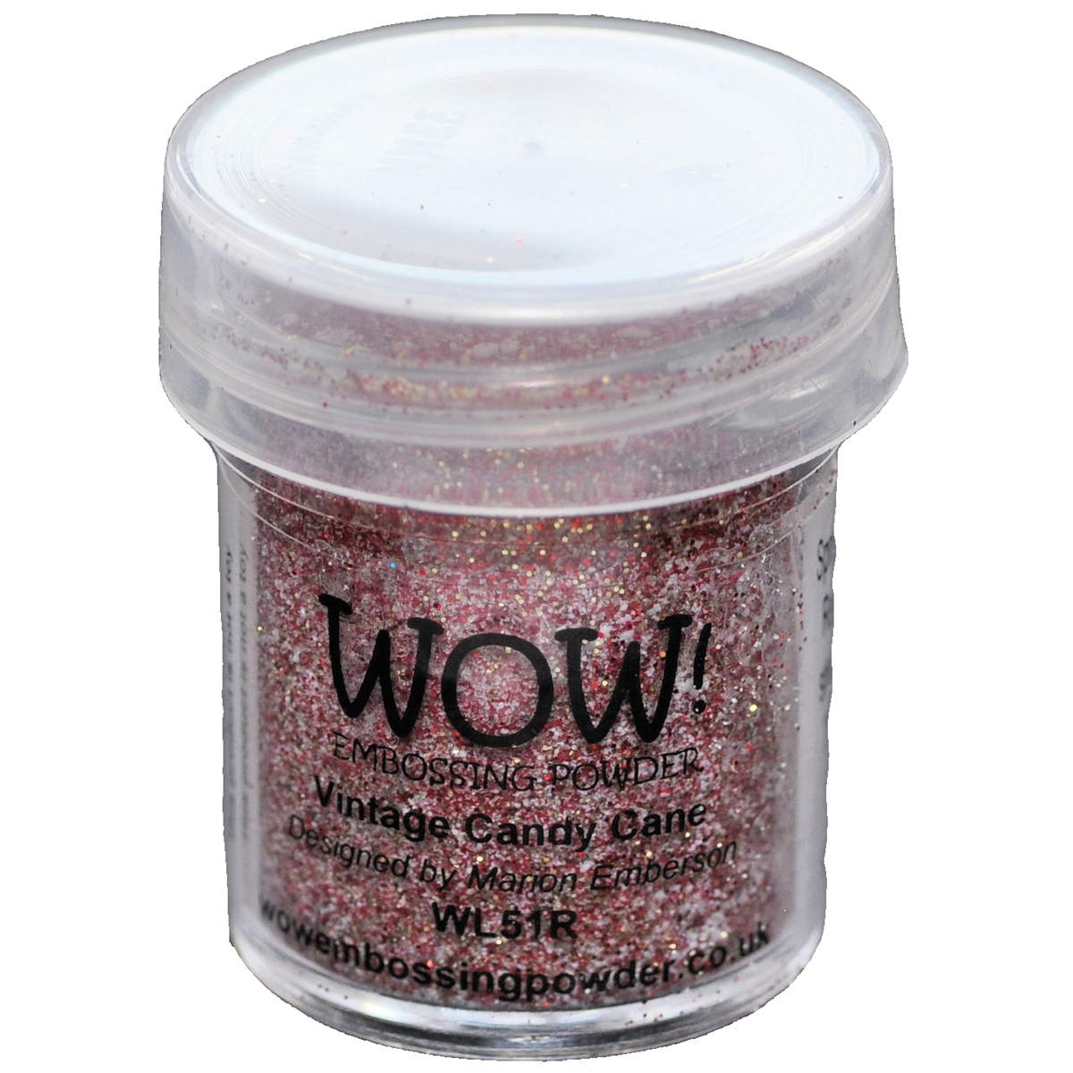WOW! Embossing Powder 15ml-Vintage Candy Cane