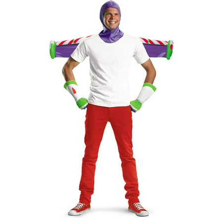Buzz Lightyear Adult Halloween Costume](Mens Buzz Lightyear Costume)