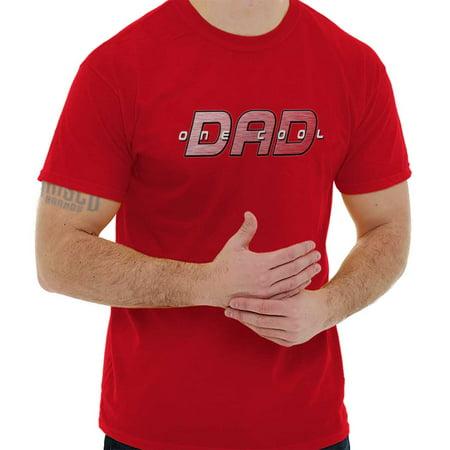 Brisco Brands One Cool Dad Nerdy Superhero Mens Short Sleeve T-Shirt](Superhero Father's Day)