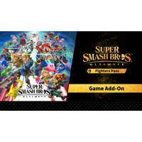Super Smash Bros. Ultimate + Fighters Pass DLC Bundle, Nintendo, Nintendo Switch (Digital Download)