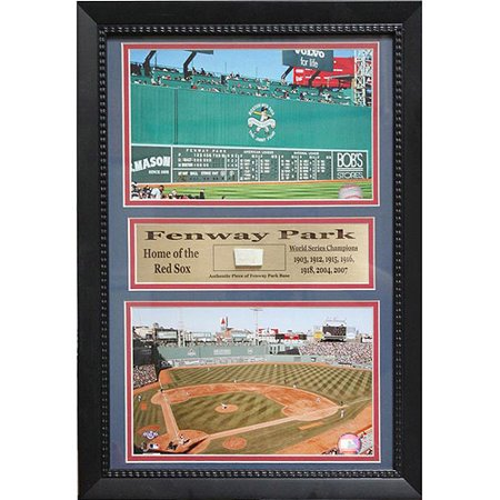 MLB Fenway Park Game Used Frame, 12x18 (Pictures Of Fenway Park)