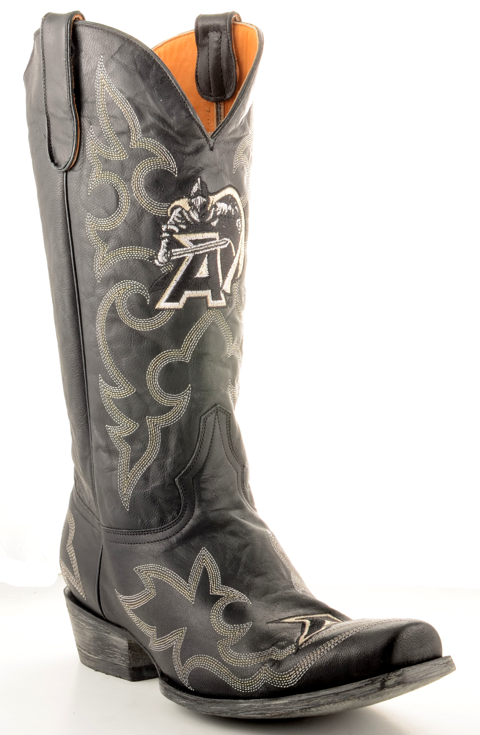 Gameday Boots Mens Leather Army Cowboy Boots