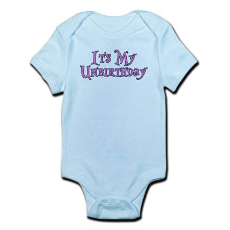 Alice In Wonderland For Baby (CafePress - It's My Unbirthday Alice In Wonderland Infant Body - Baby Light)