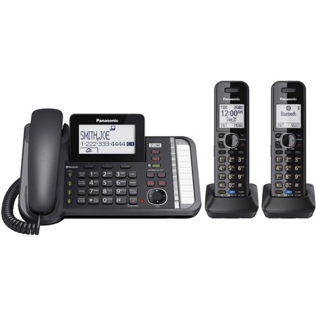 Panasonic Link2Cell KX-TG9582B Duo Cordless Phone by