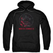 Mortal Kombat X - Bloody Seal - Pull-Over Hoodie - XXX-Large