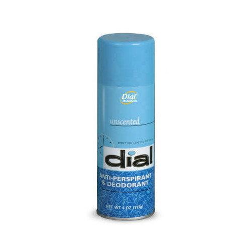 Dial Complete Unscented Anti Perspirant and Deodorant Aerosol - 4-oz.