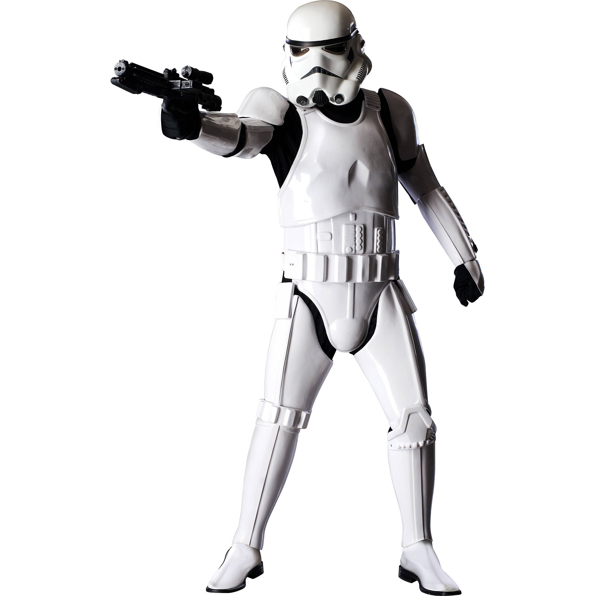 Stormtrooper Supreme Edition Adult Halloween Costume - One Size Up to 44