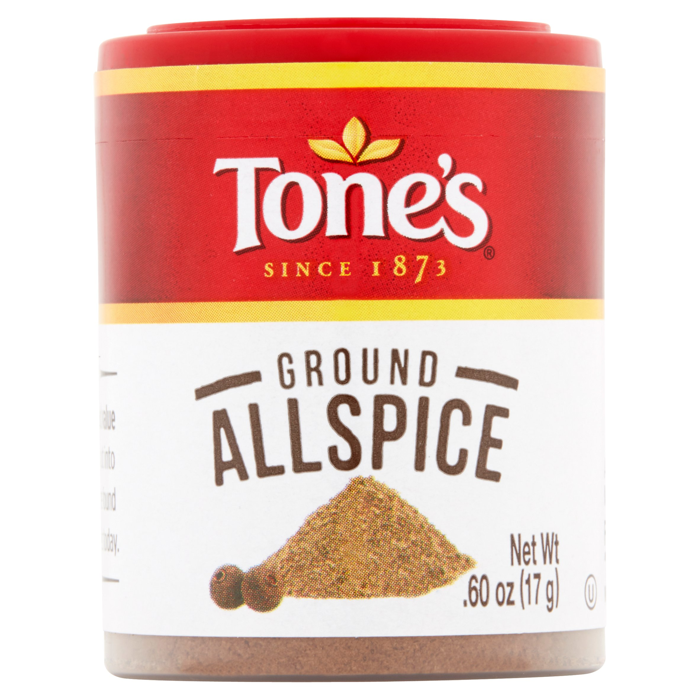 (4 Pack) Tone's Ground Allspice, .60 oz