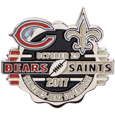 New Orleans Saints vs. Chicago Bears WinCraft 2017 Matchup Game Pin - No Size - Halloween Chicago 2017 Bars