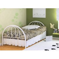 Rack Furniture Brooklyn Classic Metal Bed, Twin, Multiple Colors