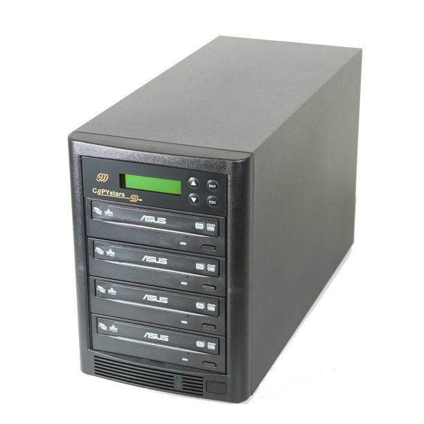 Copystars Dvd Duplicator 1 3 24x External Dvd Burner Writer Mdisc Dvd Duplicators Cd Copier Recorder Copy Tower Walmart Com Walmart Com