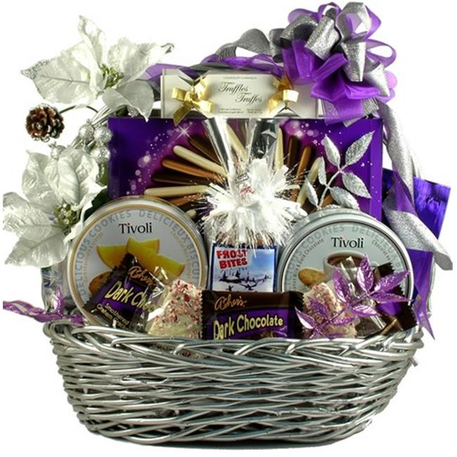 Gift Basket Drop Shipping RaDaDe-Med Razzle Dazzle Delights, Holiday Gift Basket, Medium