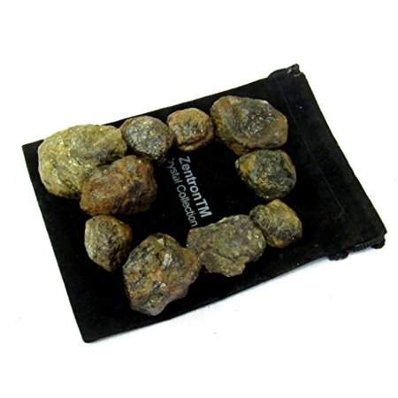 Zentron Crystal Collection: 1 Pound Natural Rough Garnet Stones