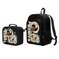 """NFL New Orleans Saints """"Accelerator"""" Backpack and Lunch Kit Set"""