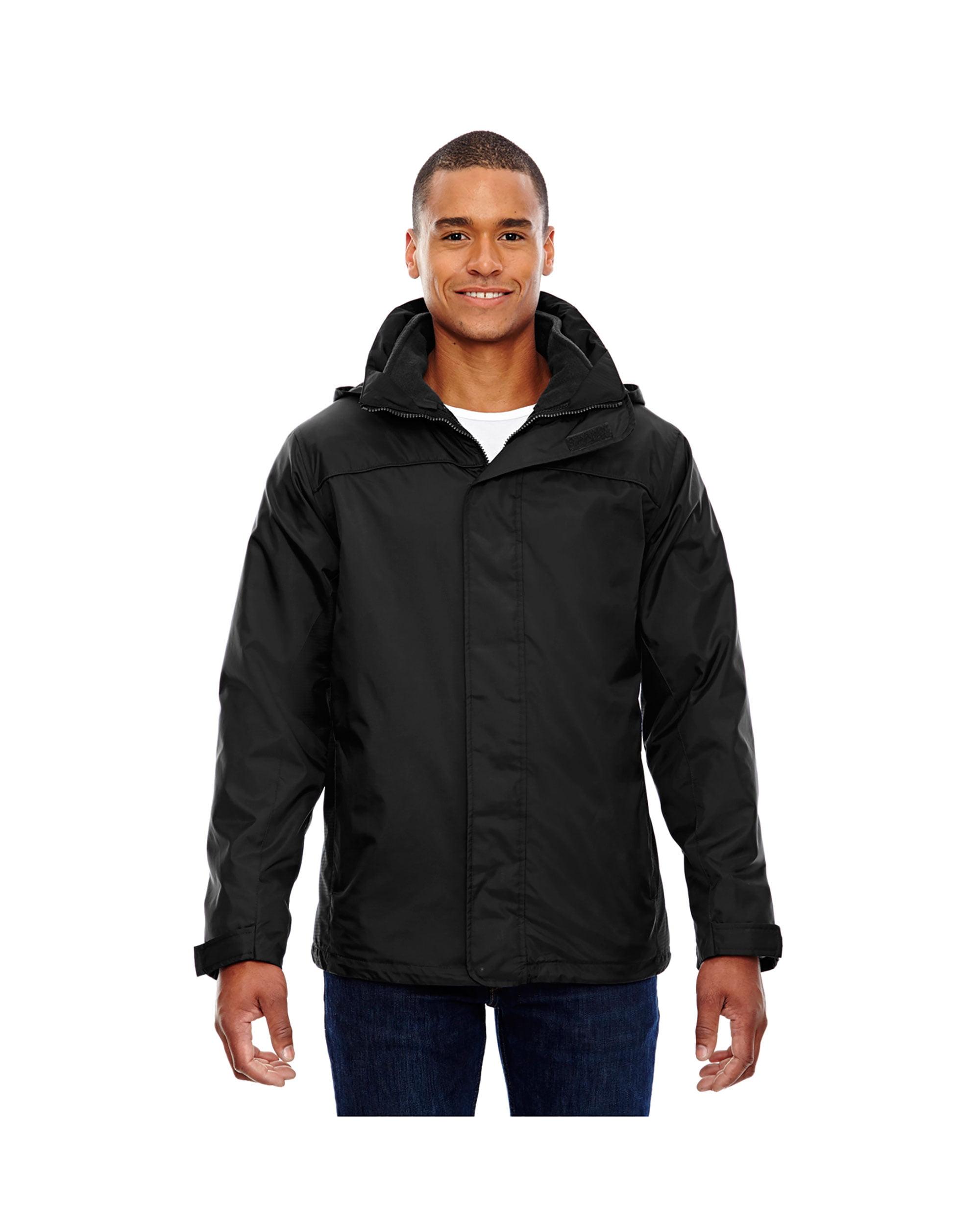 North End Mens Adjustable Snap Hood 3-in-1 Jacket
