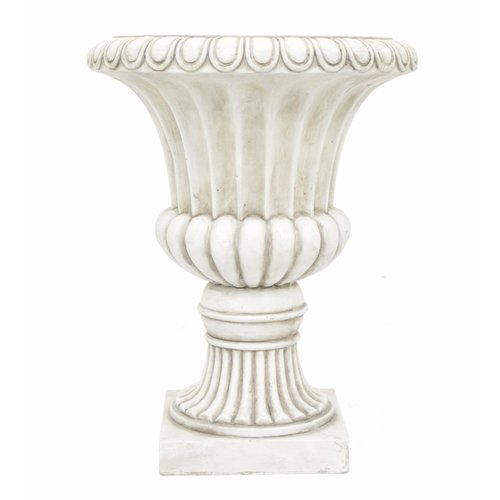 Three Hands Resin Urn Planter by