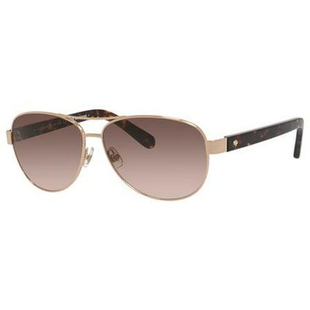 Kate Spade Dalia 2/S Sunglasses 0W15 58 Gold Havana - Kate Spade Prescription Sunglasses