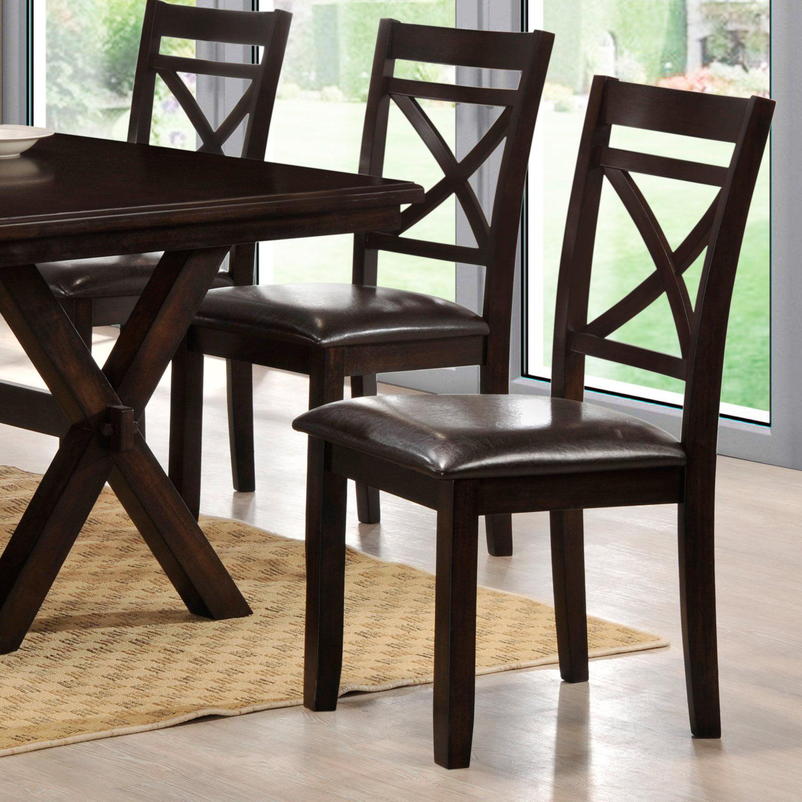 Simmons Austin Dining Chairs Set Of 2 Walmart Com
