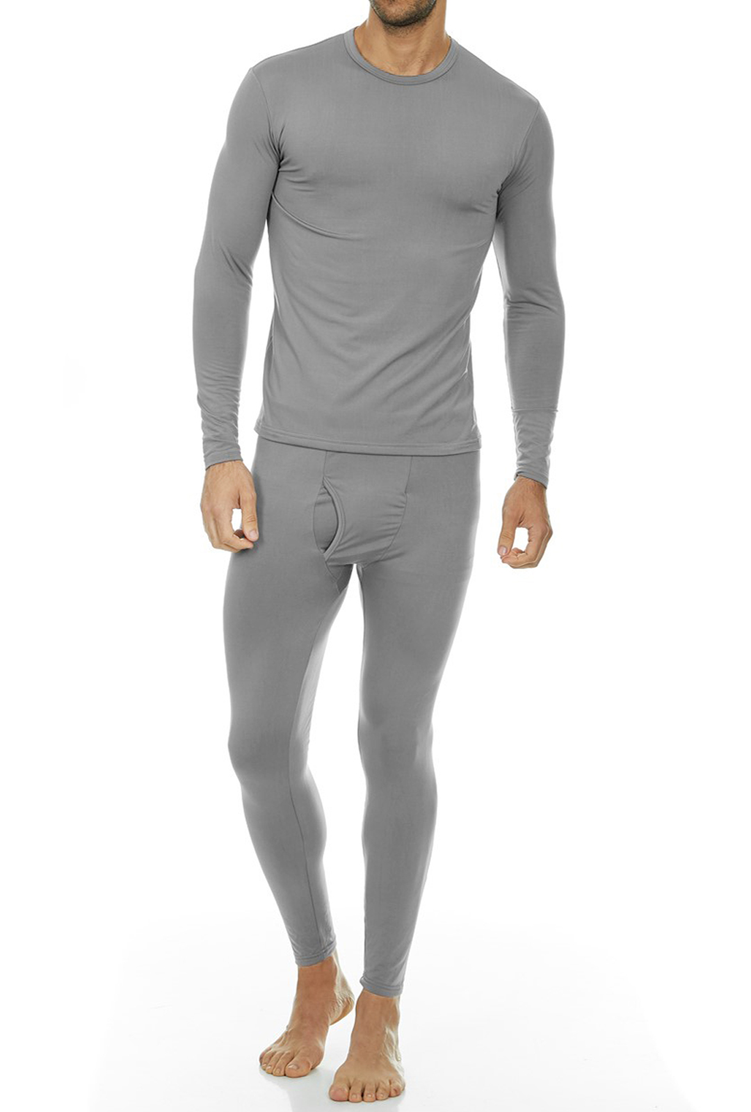 Refly Womens Super Soft Skin-Friendly and Generous Stretchy fit Thermal Underwear Long Johns Set