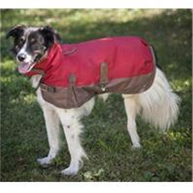 Ethical Fashion Blanket-saison-Dog rev-tement Rouge Medium 751625 - image 1 de 1