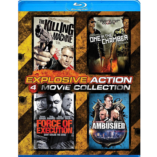 Explosive Action 4-Pack: The Killing Machine / One In The Chamber / Force Of Execution / Ambushed (Widescreen)