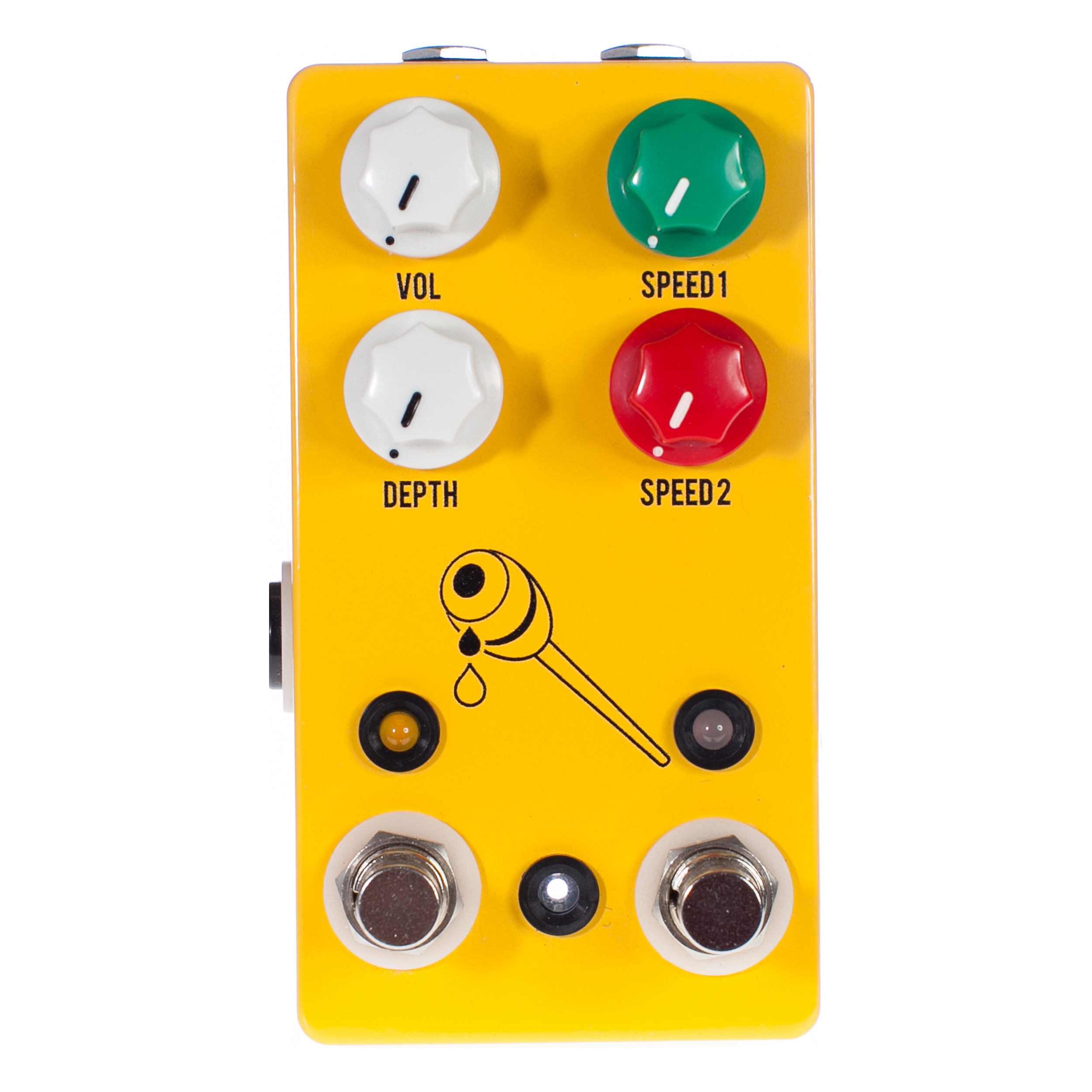 JHS Pedals Honey Comb Deluxe Dual Speed Tremolo Pedal by JHS Pedals