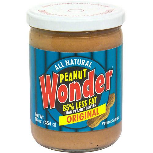 ***Discontinued by kehe 8_19***Peanut Wonder Original Peanut Butter, 16 oz (Pack of 6)