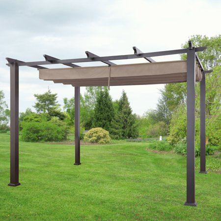 Garden Winds Replacement Canopy for the Meritmoor 10x12 Pergola, Riplock 350 - Garden Winds Replacement Canopy For The Meritmoor 10x12 Pergola