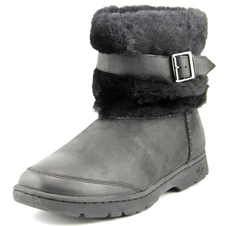 Ugg Australia Brielle Round Toe Leather Snow Boot