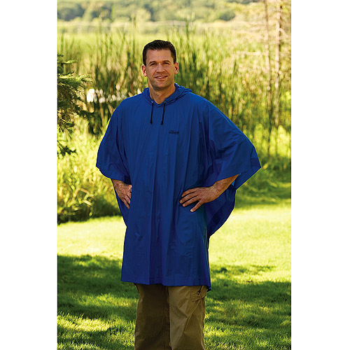 Coleman Adult Poncho Blue