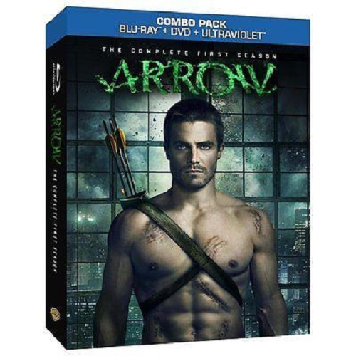 Refurbished Arrow: The Complete First Season (Blu-ray/DVD, 2013, 9-Disc Set)
