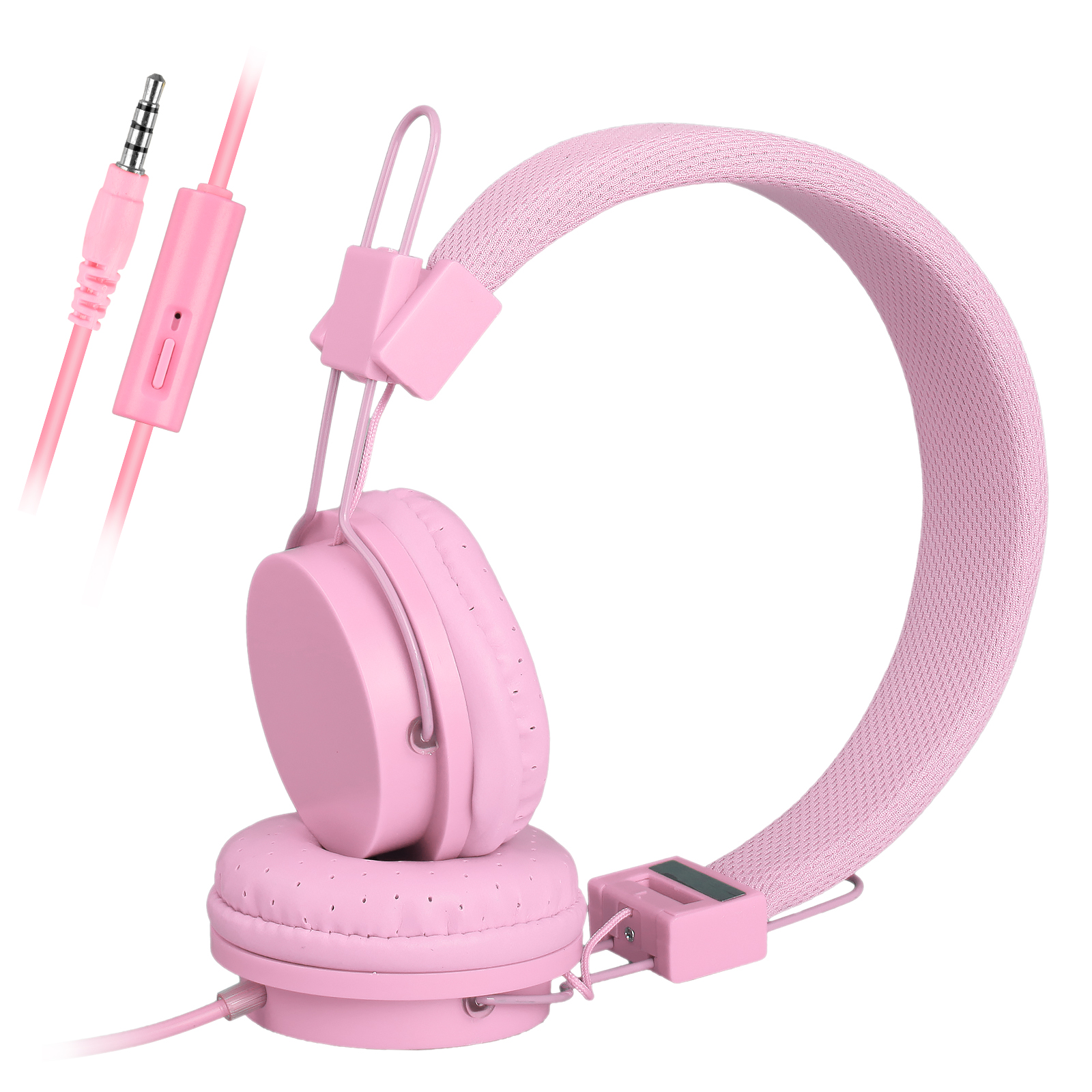 Kids Over Wired Ear Headphones Headband Kids Girl Earphones for iPad/Tablet iPhone Samsung and other Devices