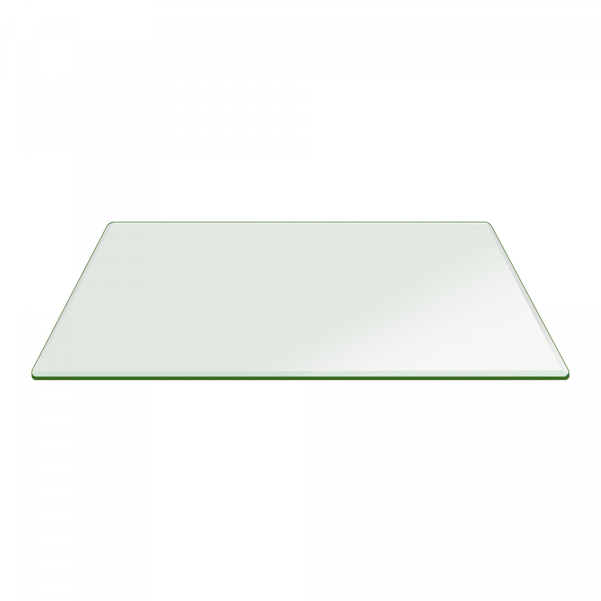 36 X 60 Inch Rectangle Glass Table Top 3 8 Inch Thick Clear Tempered Glass With Bevel Edge Polished Radius Corners Walmart Com Walmart Com