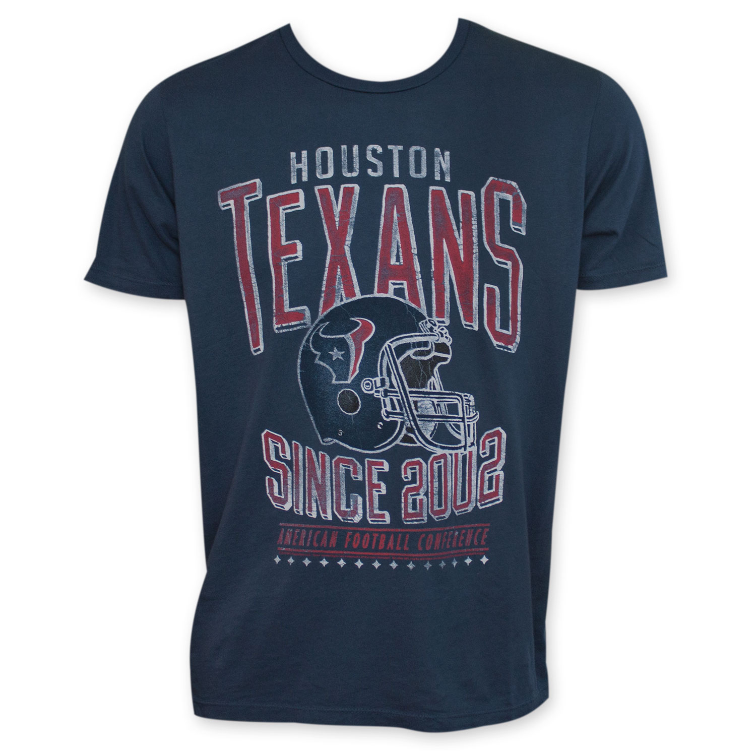 Navy Blue Houston Texans 2002 NFL T-Shirt