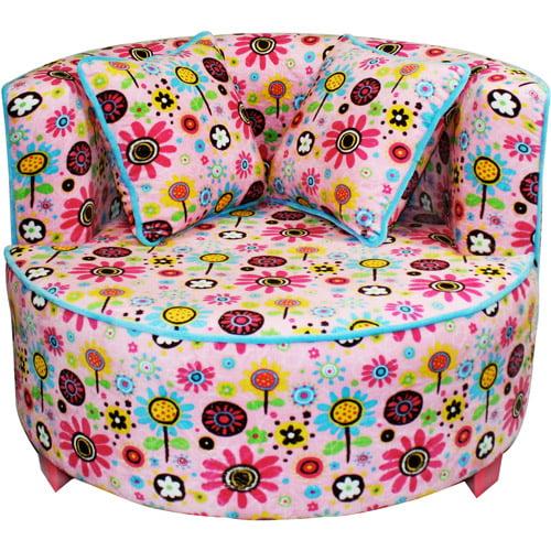 Newco Kids Tween Redondo Chair, Pink Flo