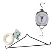 500 Lb Gambrel Hoist Kit With Hanging Scale in Gray
